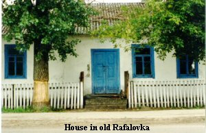 House in old Rafalovka